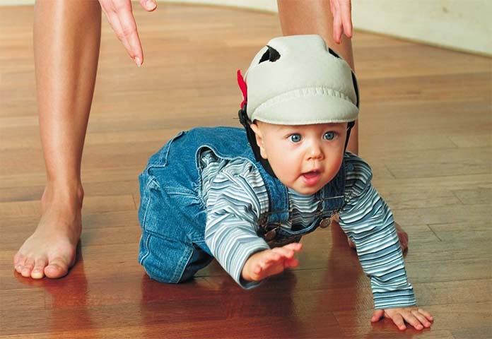 baby protective helmet