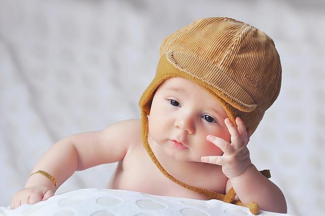 baby flat head helmet